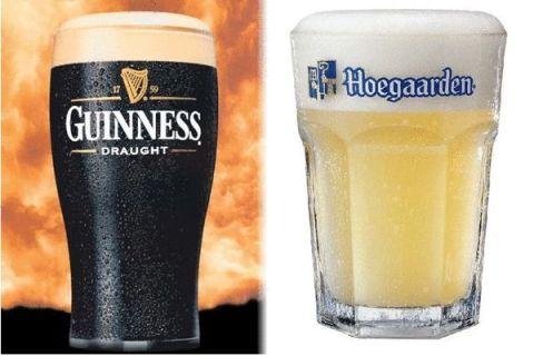 Guinness vs Hoegaarden