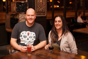 The Chad and Nellie behind Big Texas Beer Fest Photo by Rasy Ran Photography