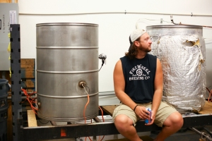 Brad Perkinson brewer and found FireWheel Brewing