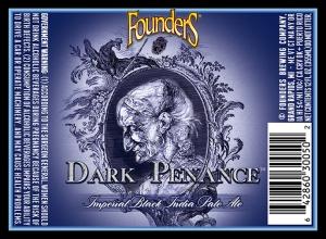 Founders Brewing's Dark Penance IPA