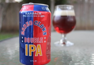 Karbach Brewing's Rodeo Clown pic courtesy of 5MTKO.com