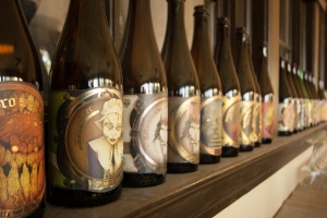 Jester King's set of every beer produced by the brewery. Photo by Rasy Ran Photography
