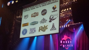 House of Blues Brewers of Local Brews Local Grooves
