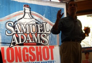 Jim Koch Samuel Adams and Longshot Homebrew Competition