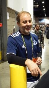 Michael Peticolas just hangin' out at GABF 2014