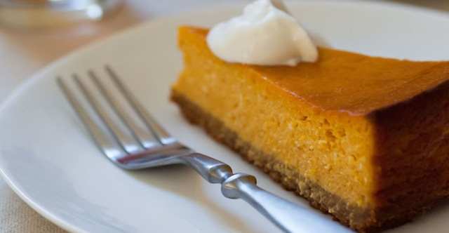 Pumpkin Beer Cheesecake