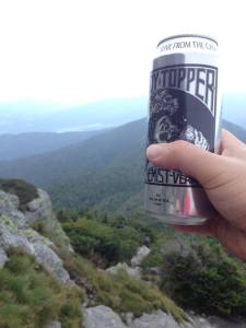 Craft Beer at The Summit of Long Trail